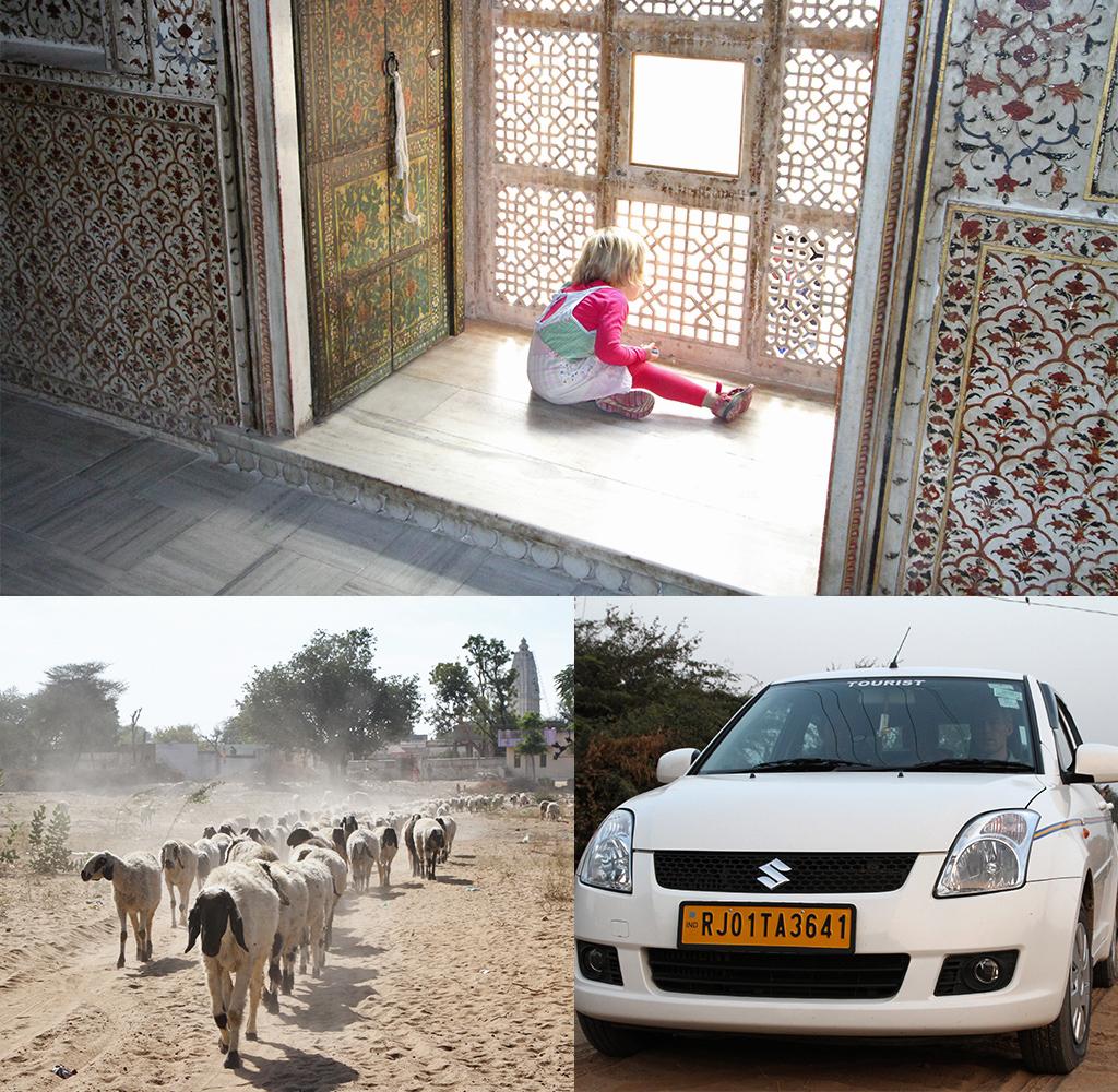 reizen met kinderen Rajasthan