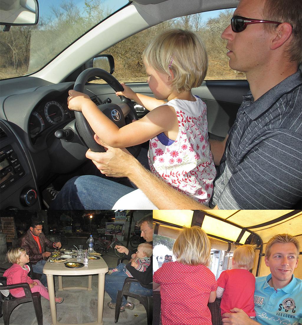 reizen met kinderen - regels voor thuis