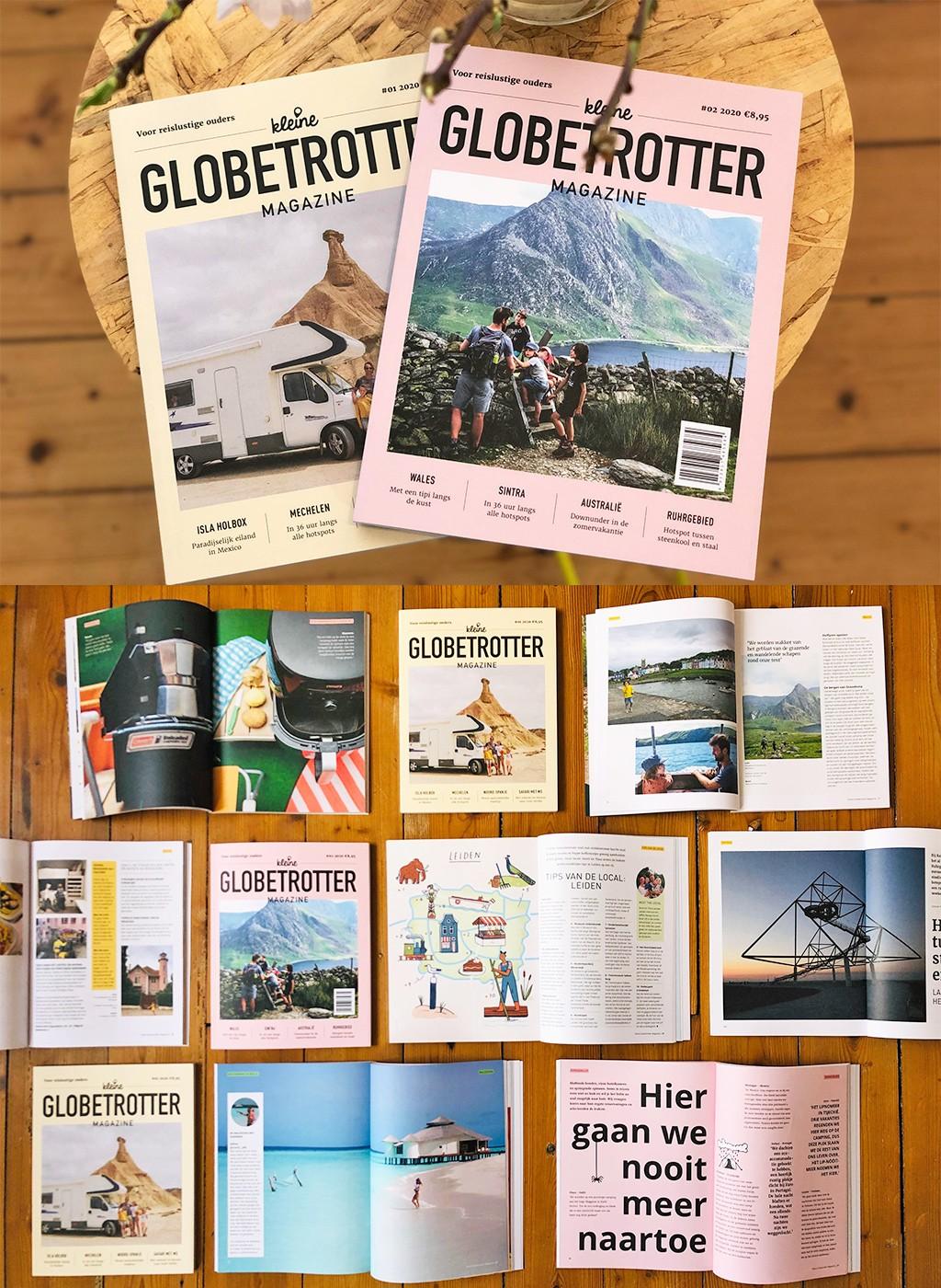 reizen vanuit huis kleine Globetrotter Magazine