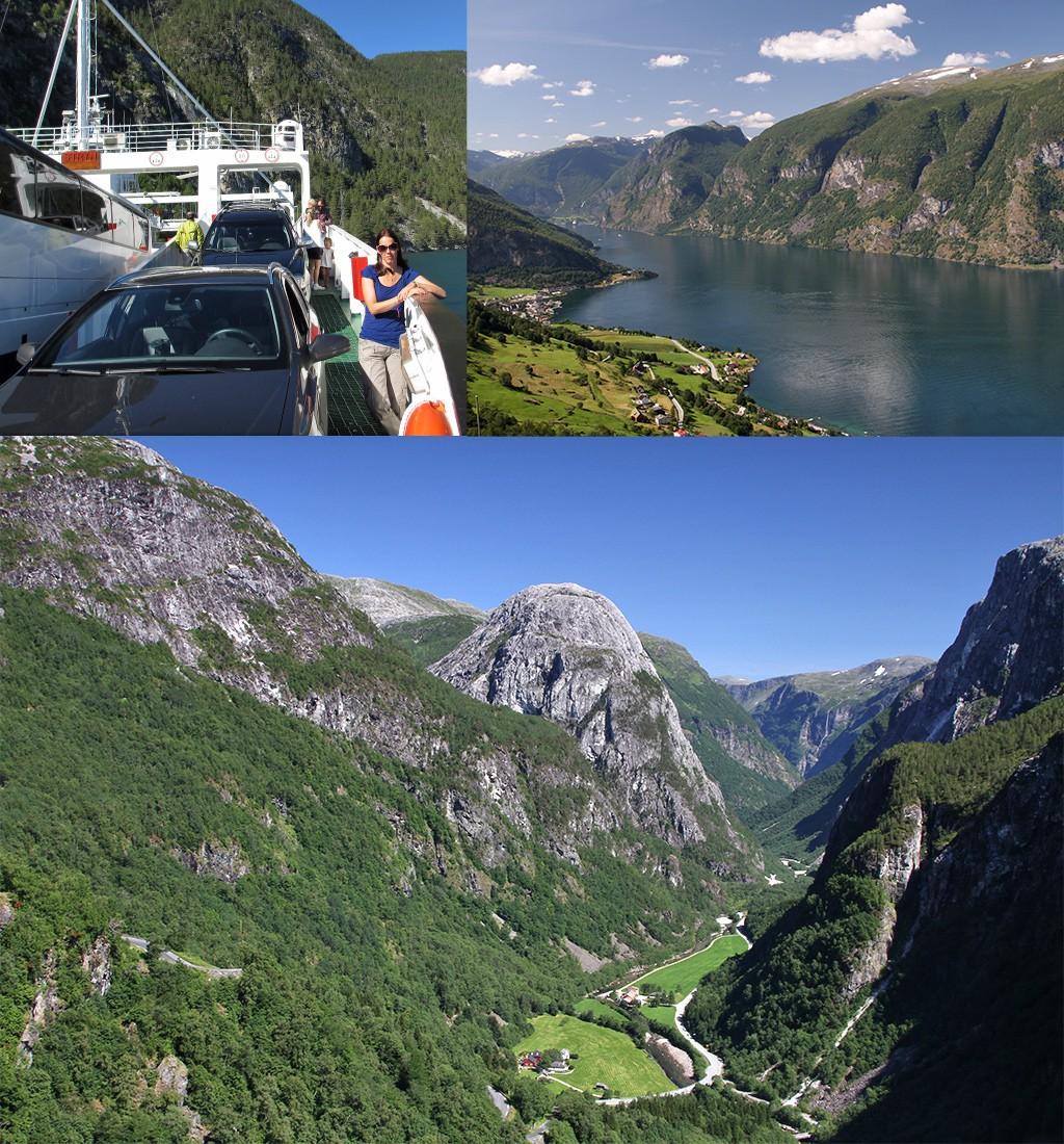 roadtrip Noorwegen - omgeving Flam