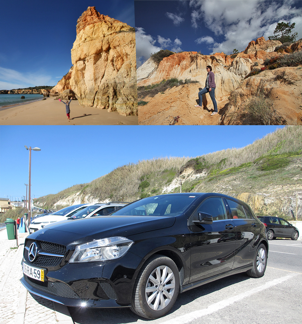 roadtrip Portugal huurauto