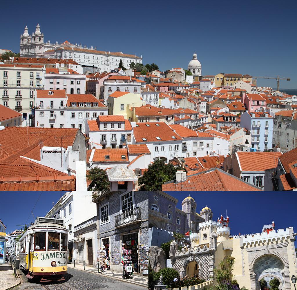 roadtrip Portugal route Lissabon Sintra