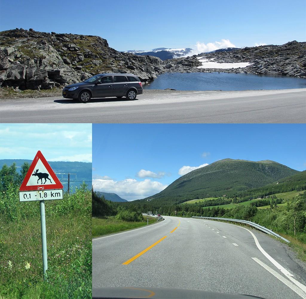 roatrip Noorwegen route met eigen auto
