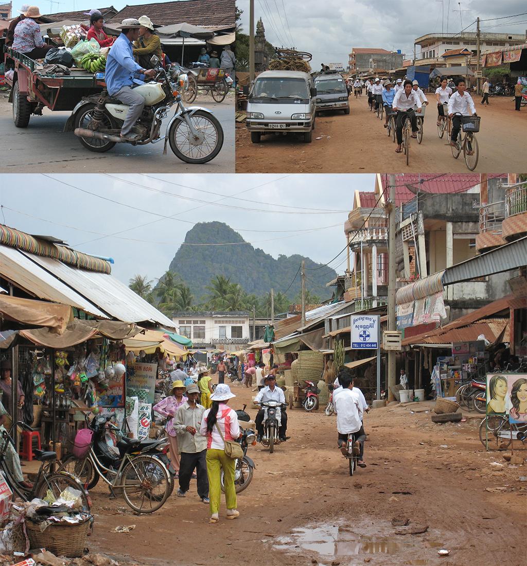 Onderweg in Cambodja