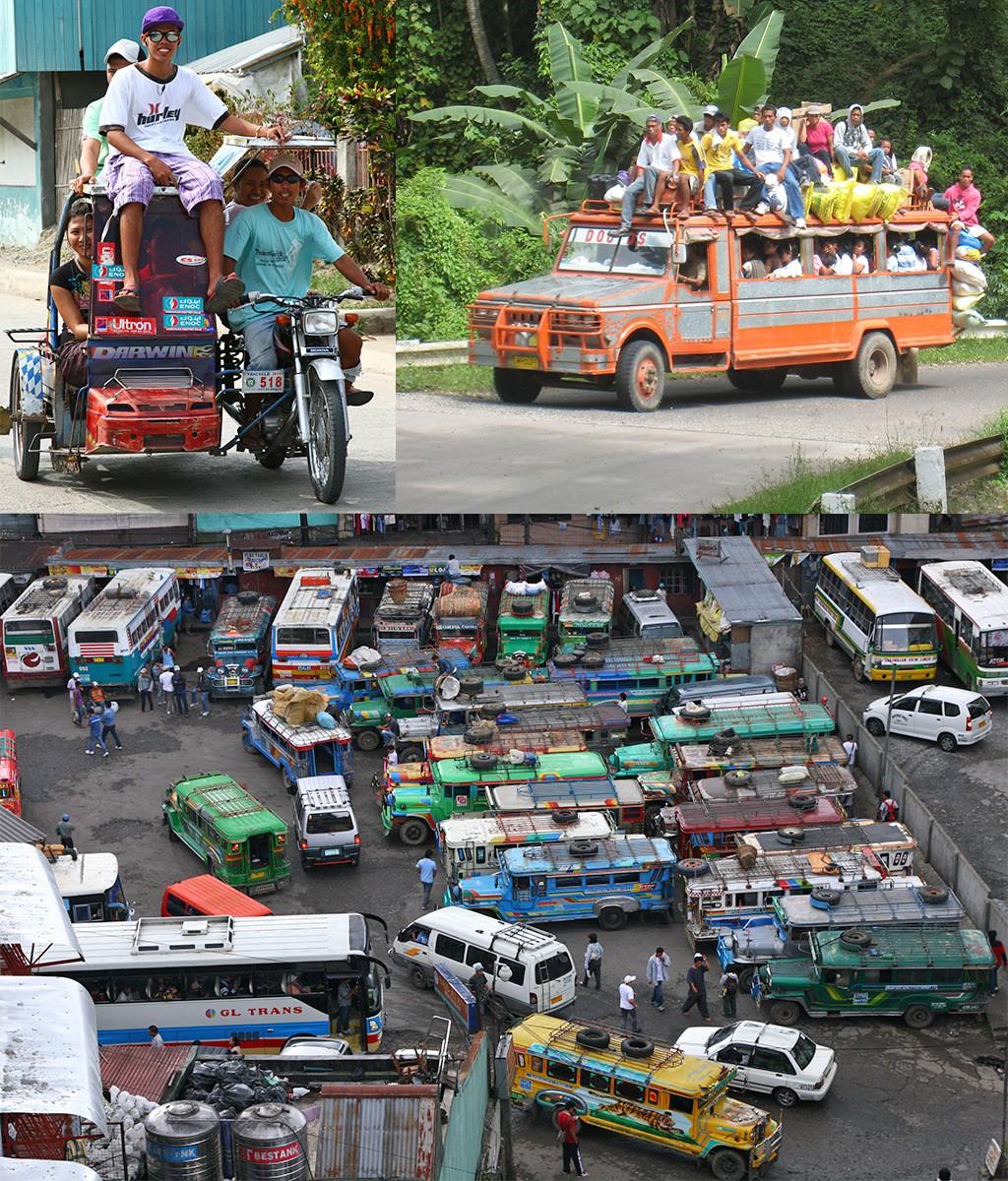 rondreis Filippijnen met openbaar vervoer