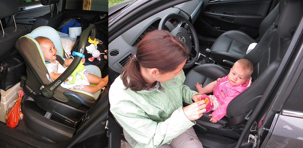 rondreis baby en peuter - auto geeft vrijheid
