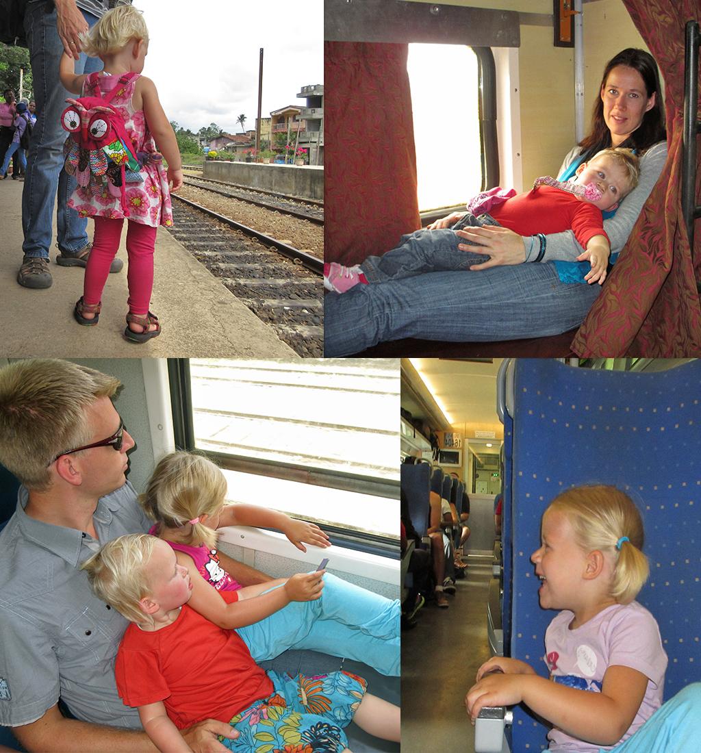 rondreis met baby en peuter met de trein