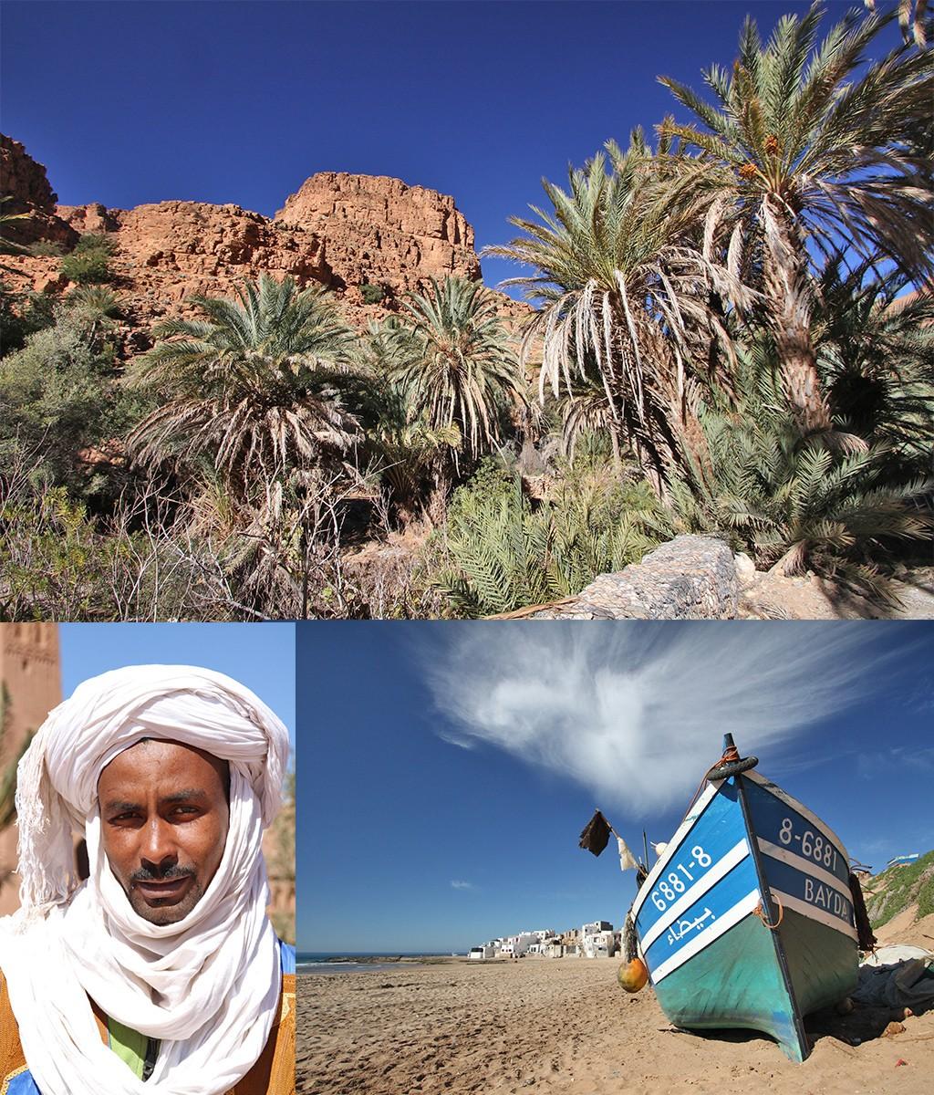 route Marokko rondreis - strand en bergen
