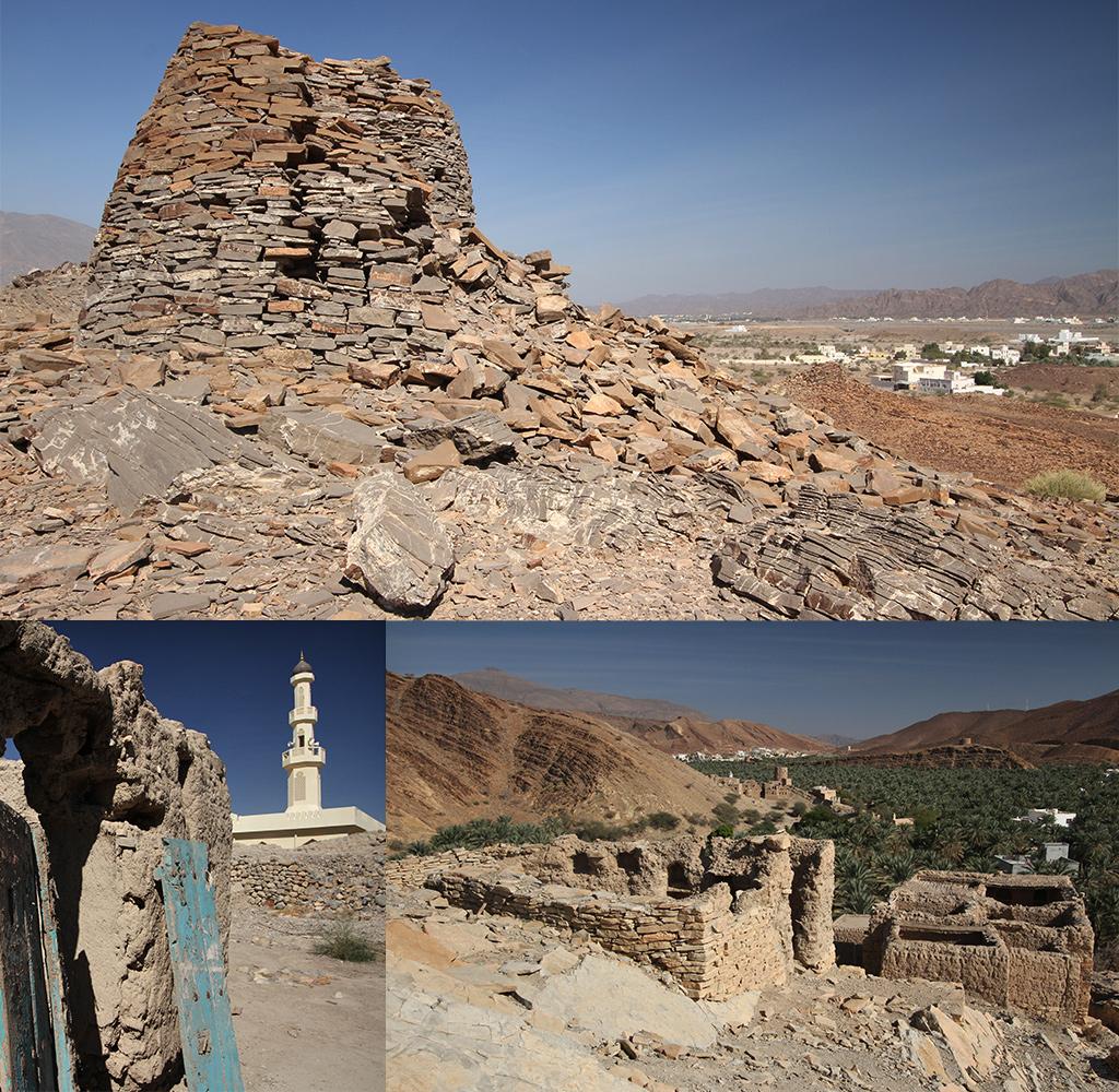 route Oman - Muscat naar Nizwa