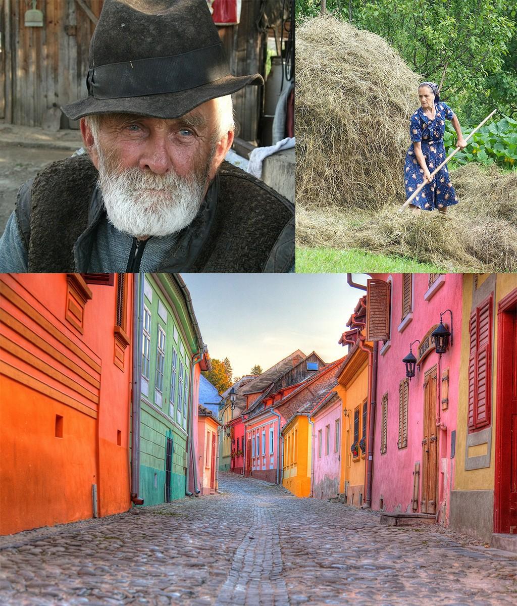 route Roemenië rondreis platteland