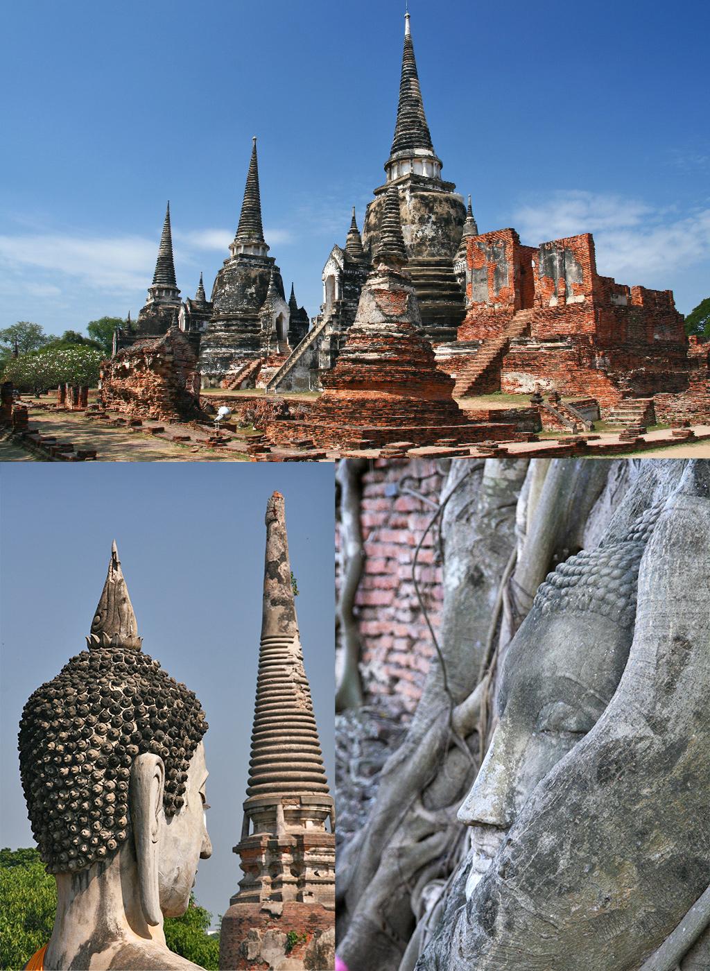 route Thailand rondreis Ayutthaya