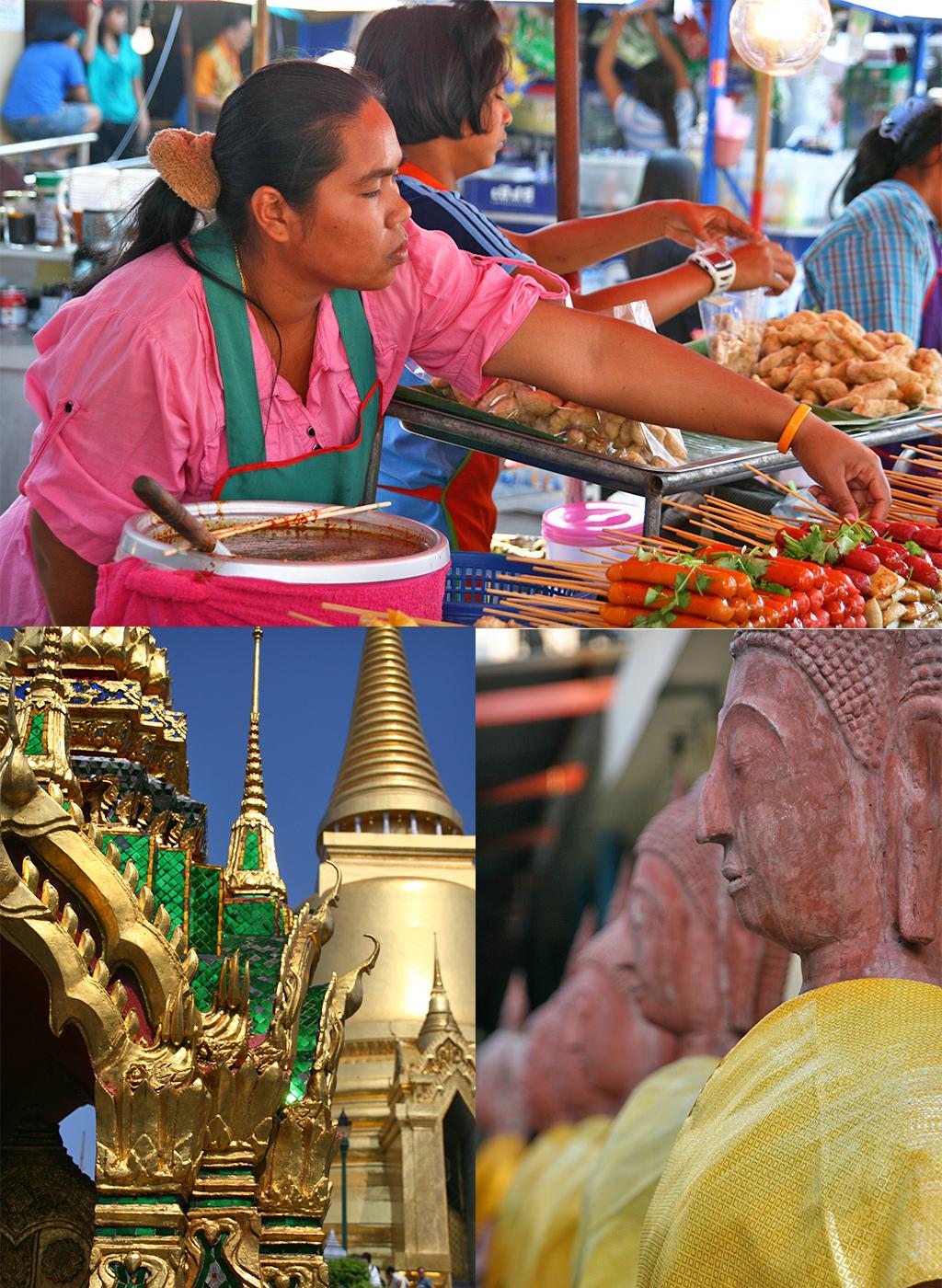 route Thailand rondreis - Bangkok