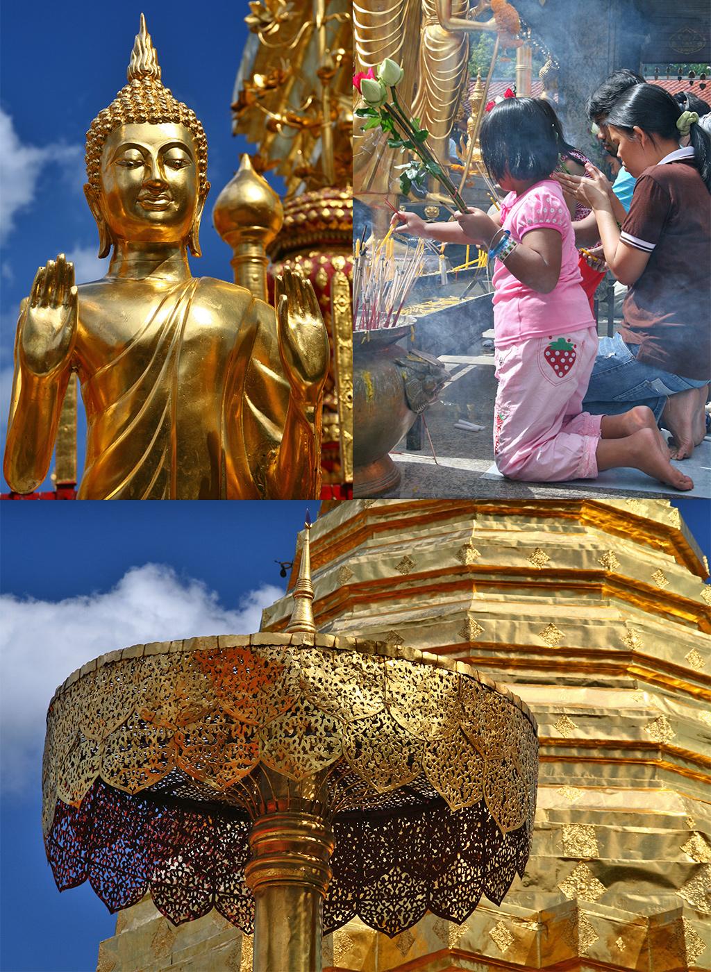 route Thailand rondreis Chiang Mai