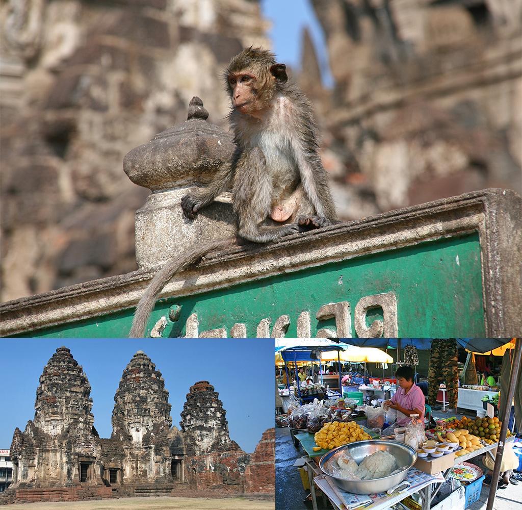 route Thailand rondreis Lopburi