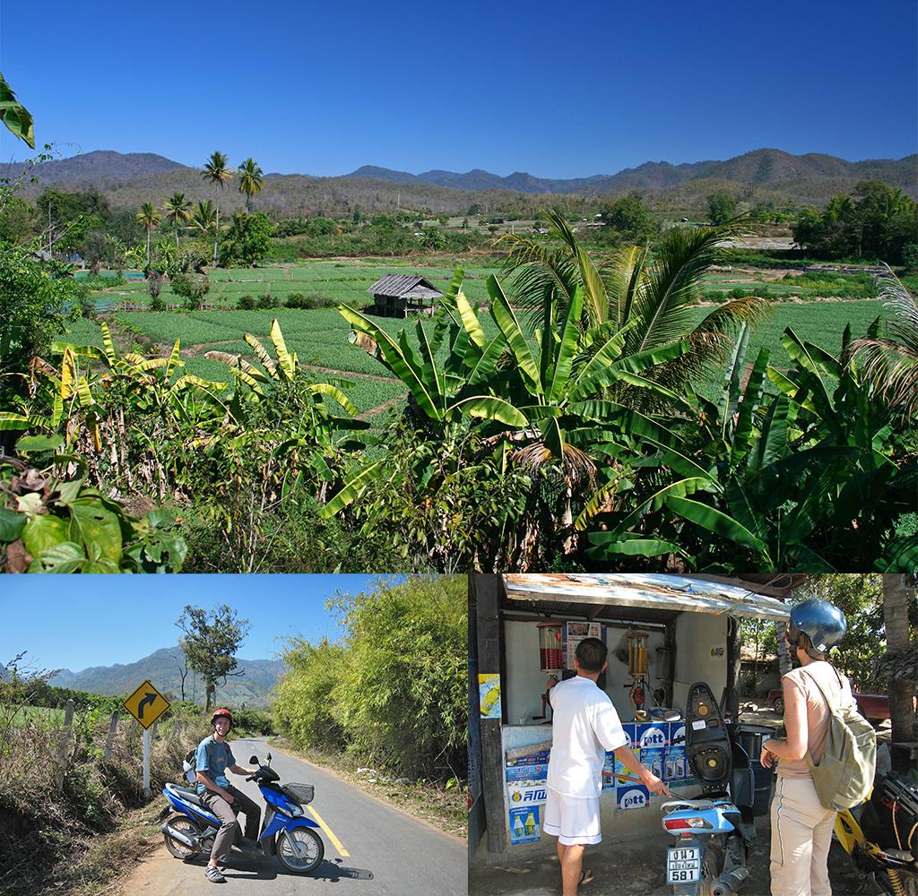 route Thailand rondreis - Pai