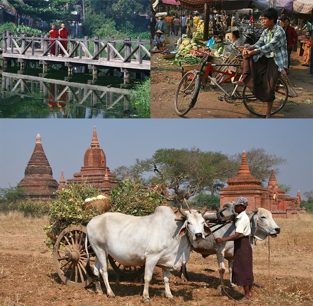 route Zuid-Oost Azië - Myanmar