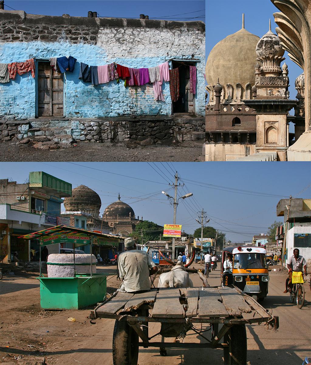 route door Zuid-India - Bijapur
