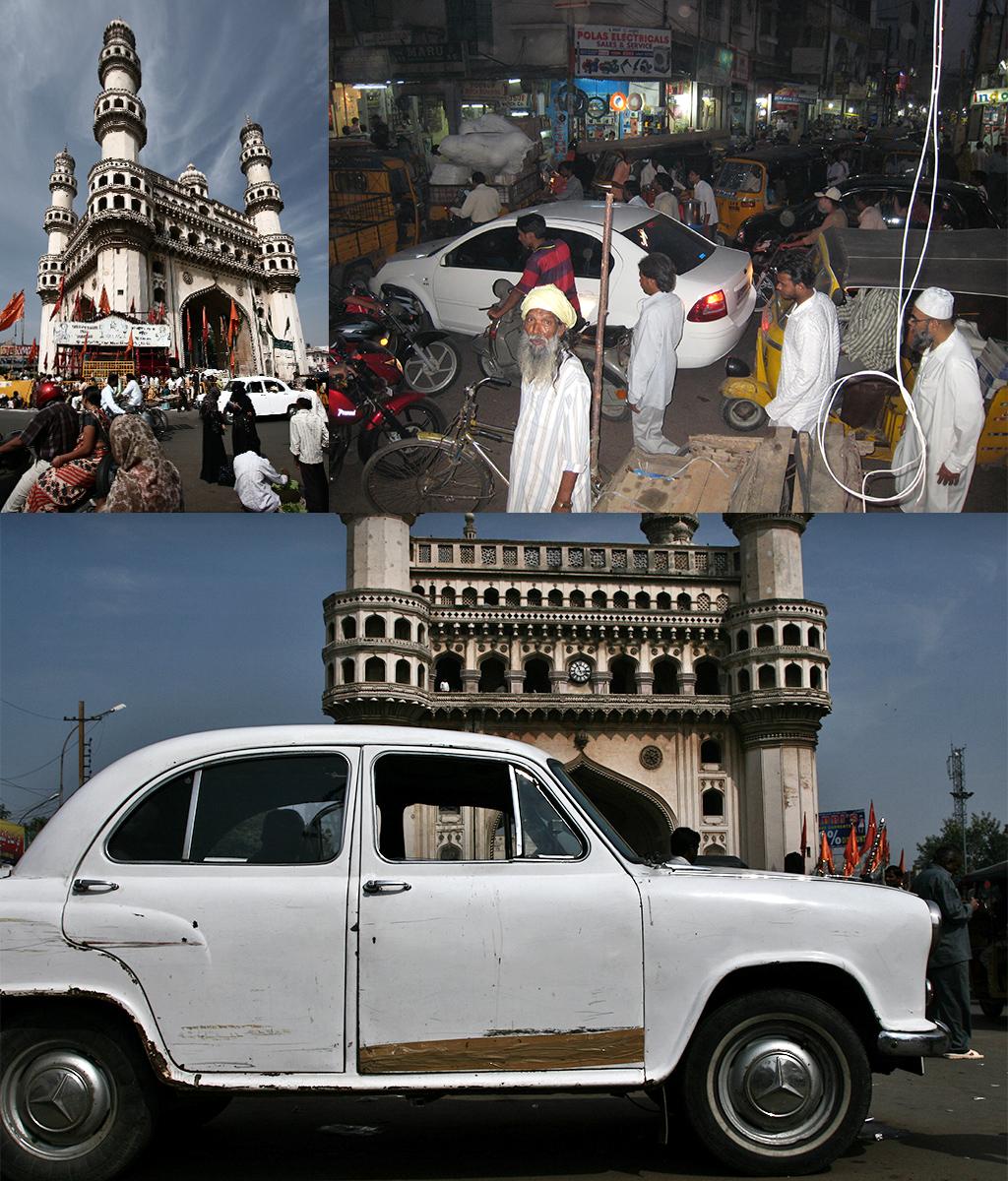 route door Zuid-India - Hyderabad