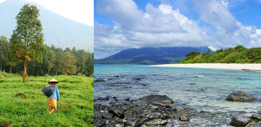rustige plekjes Java Bali Lombok