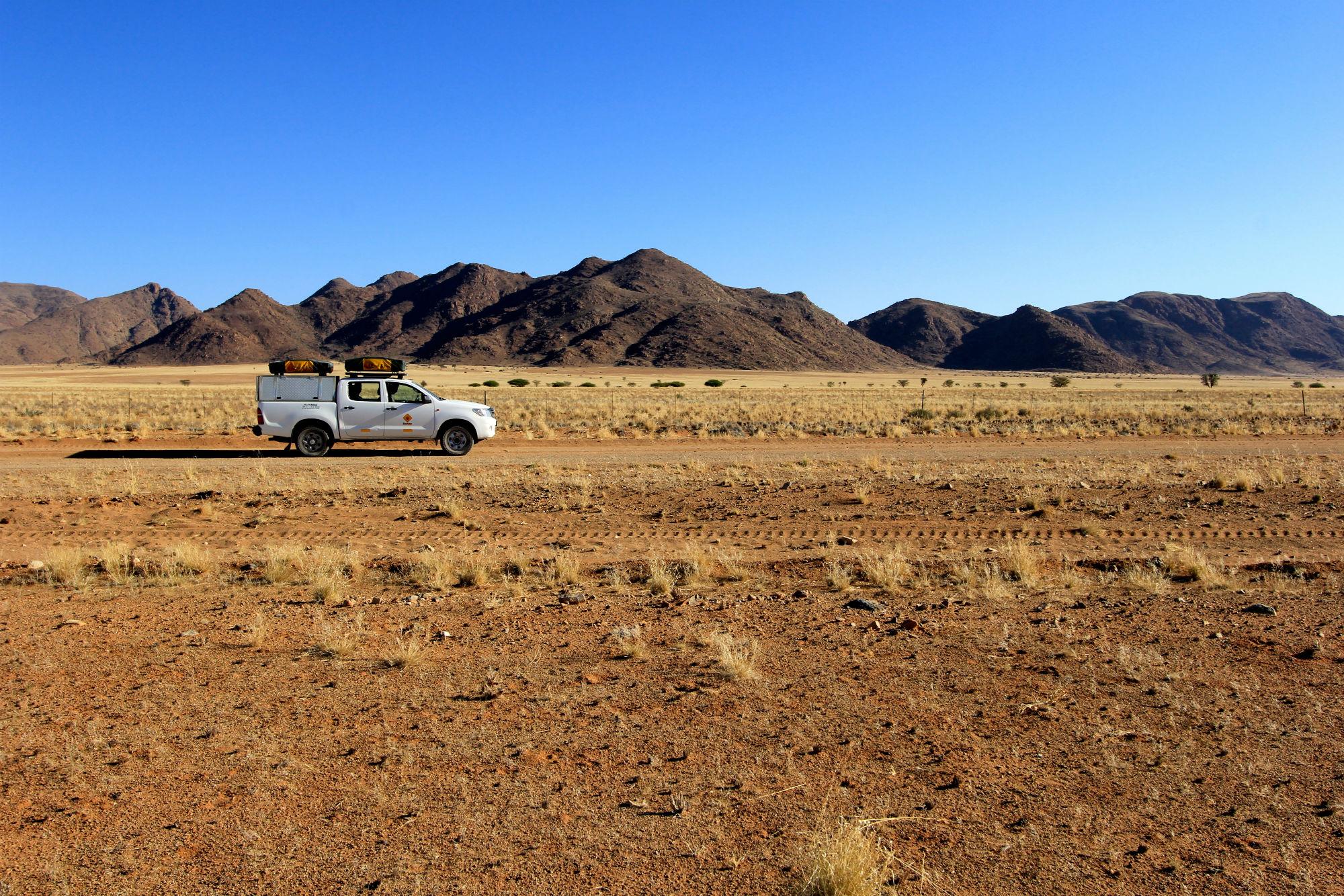 selfdrive Namibie Botswana