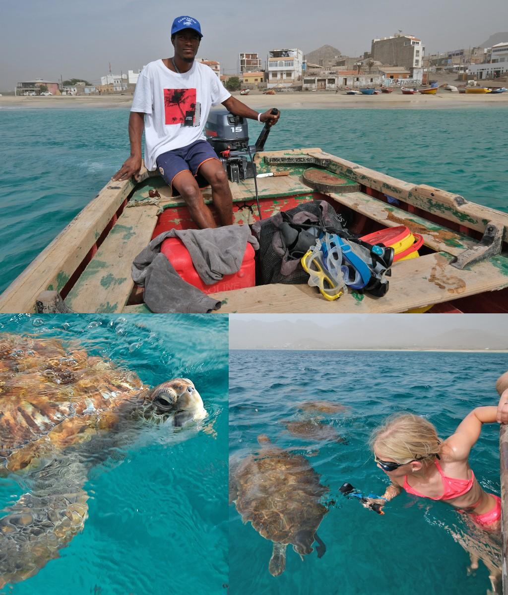 snorkelen schildpadden Sao Pedro