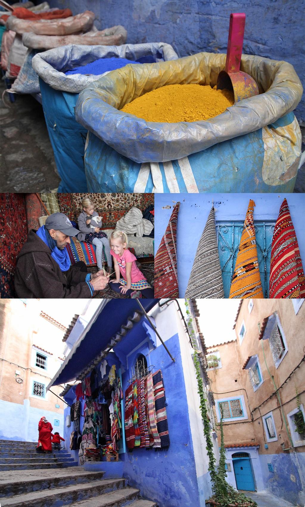 route Marokko rondreis - het noorden