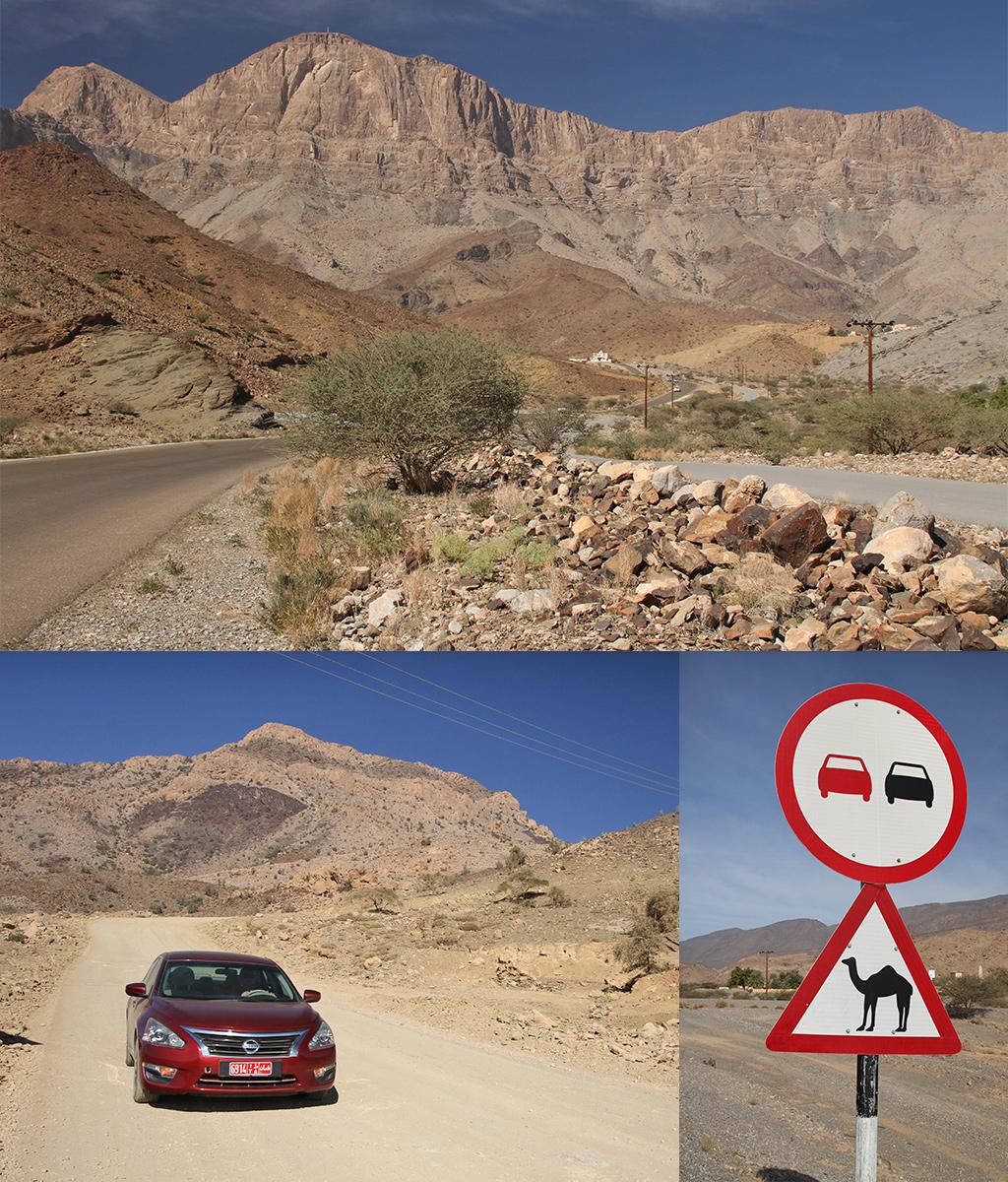 spannende route Oman