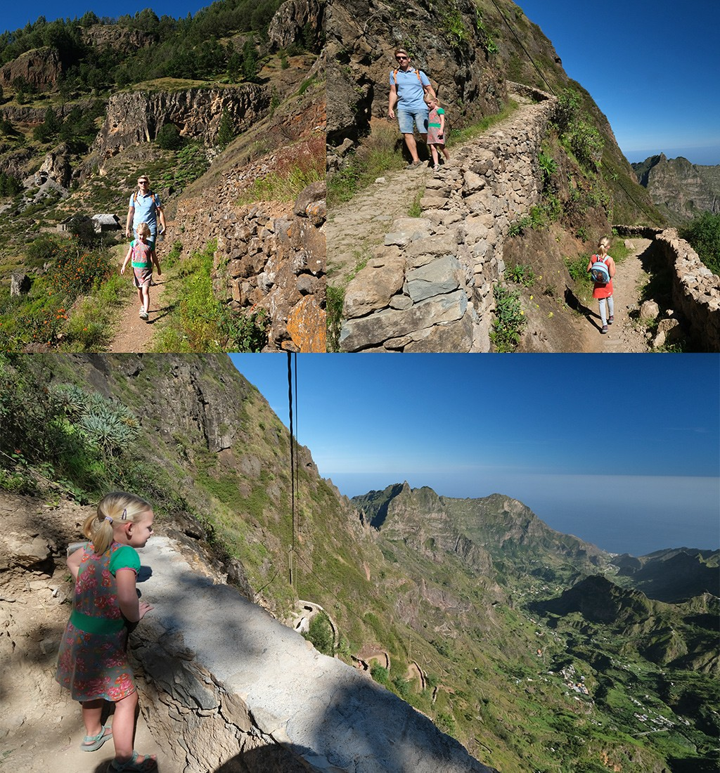 start Paúl Valley hike