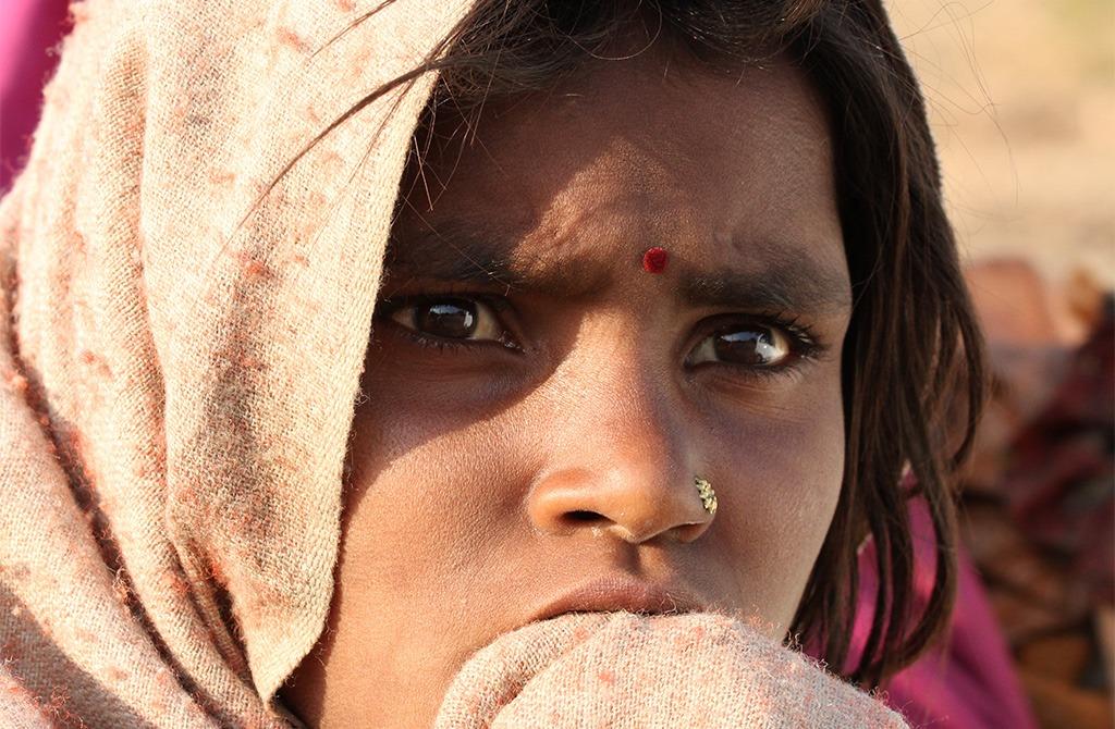 Straatfotografie India - vraag mensen niet om te lachen