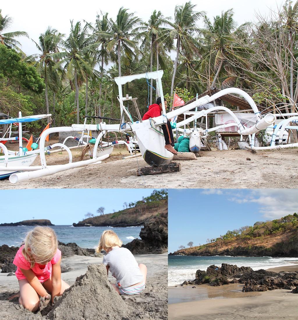 strand Bali zonder toeristen
