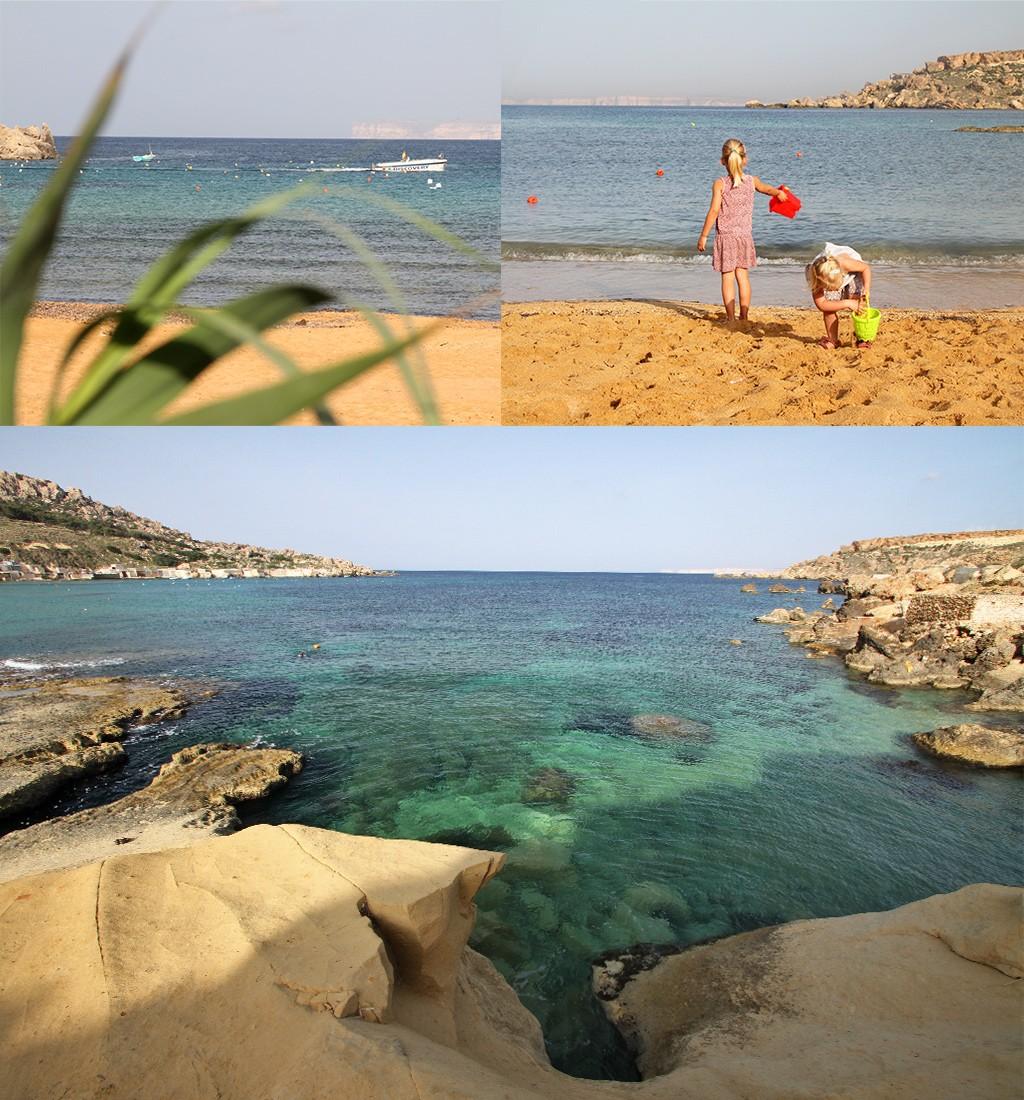 stranden Malta - Gnejna beach