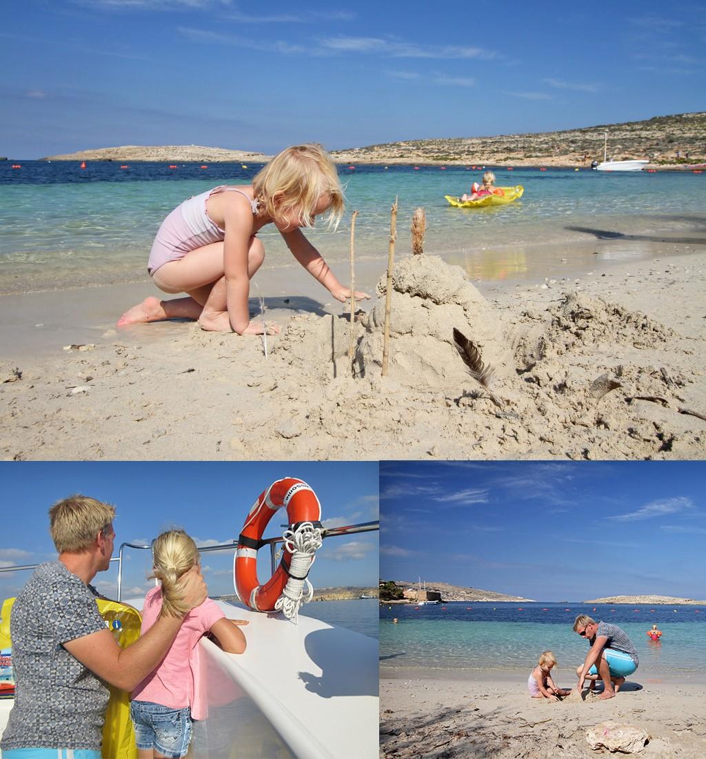 stranden Malta - Sta Maria beach Comino