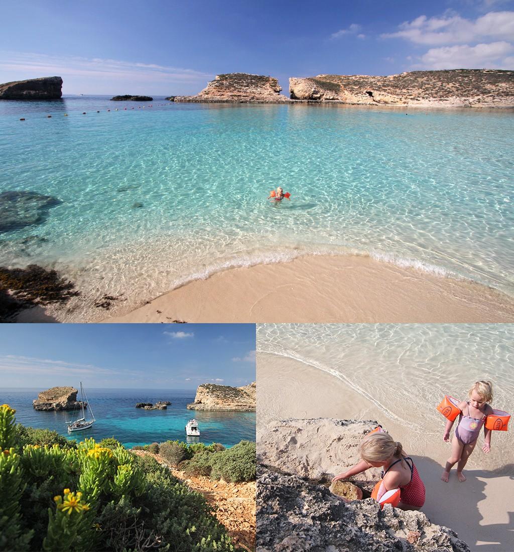 stranden Malta - blue lagoon