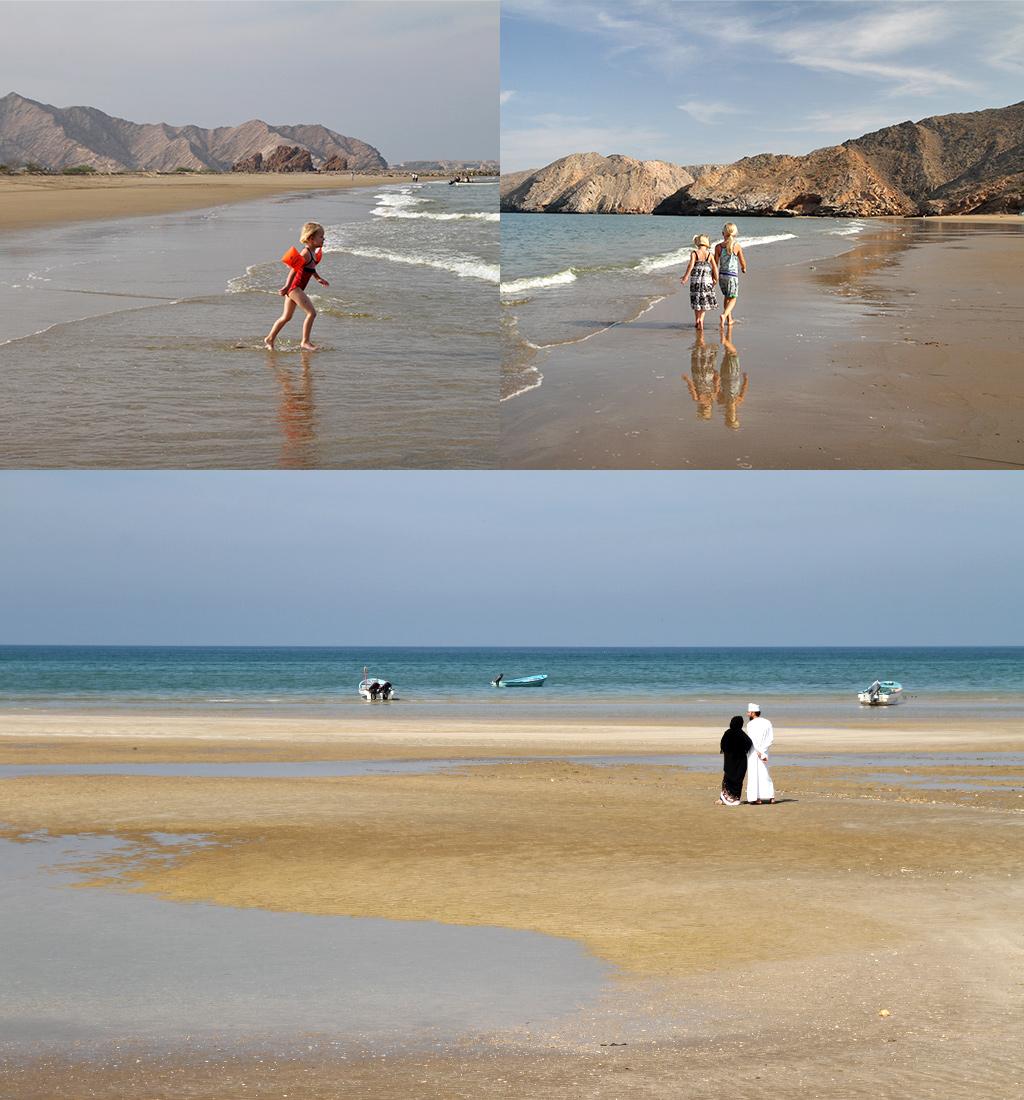 stranden rond Muscat