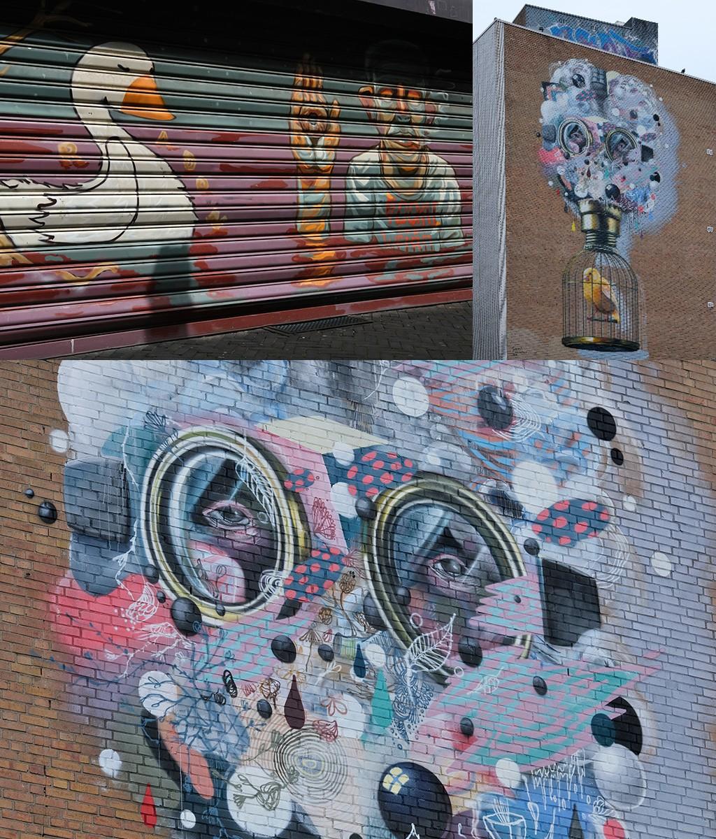 street art Honigmannstraat Heerlen