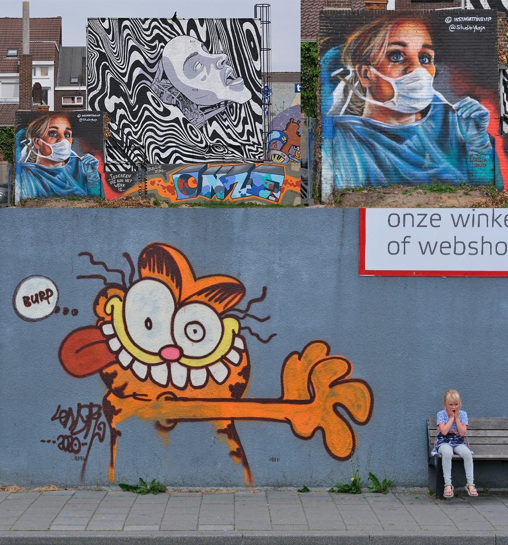 street art spoorsingel Heerlen