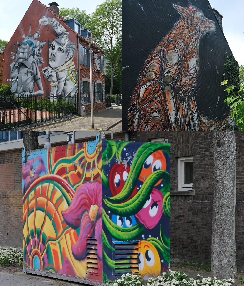 street art westkant centrum Heerlen