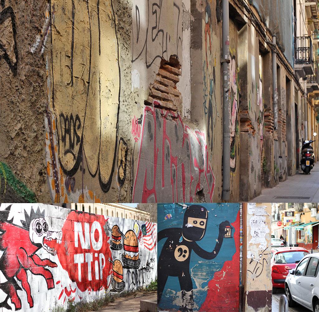 Street art El Carmen Valencia