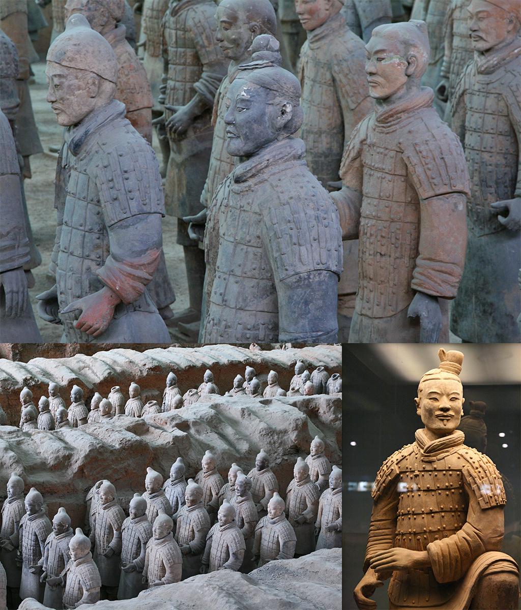 terracotta leger van Xian