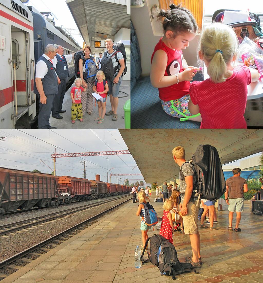 trein Georgië met kinderen
