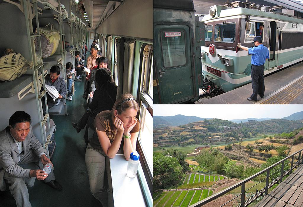 trein Kunming naar Dali