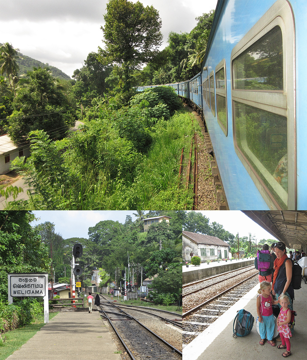 trein Sri Lanka routes