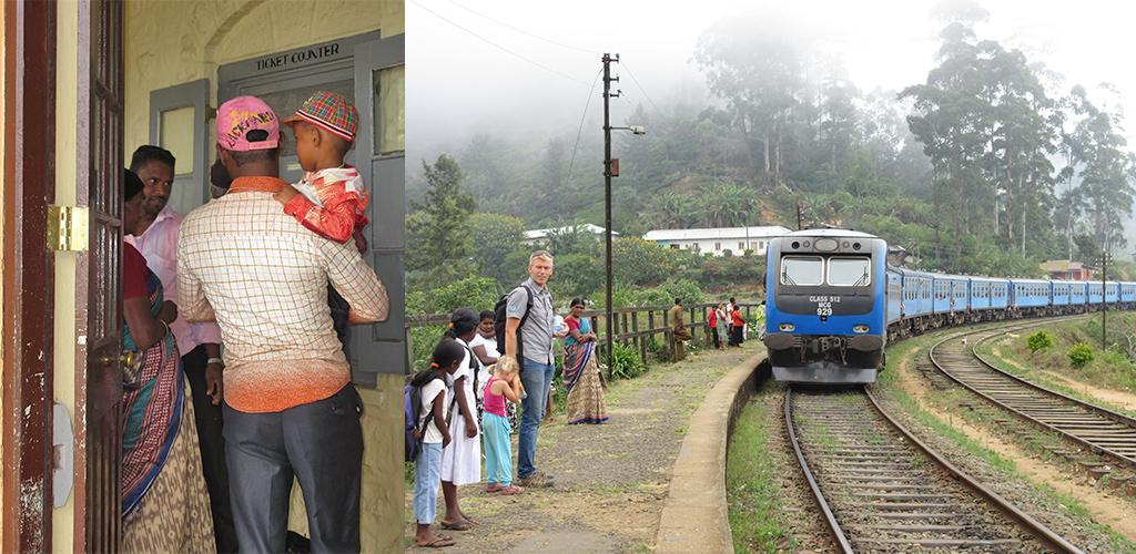 Treinkaartjes kopen Sri Lanka