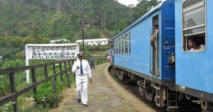treinreis Ella Haputale Idalgashinna