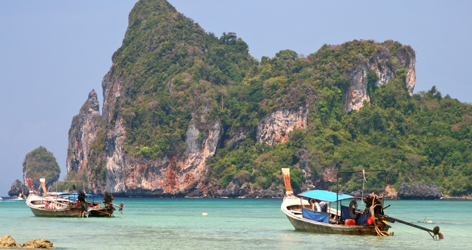 tropische honeymoon Thailand