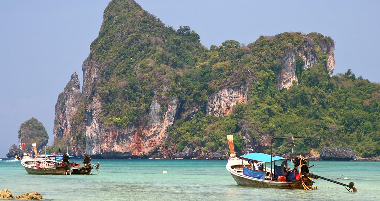 tropische honeymoon Thailand