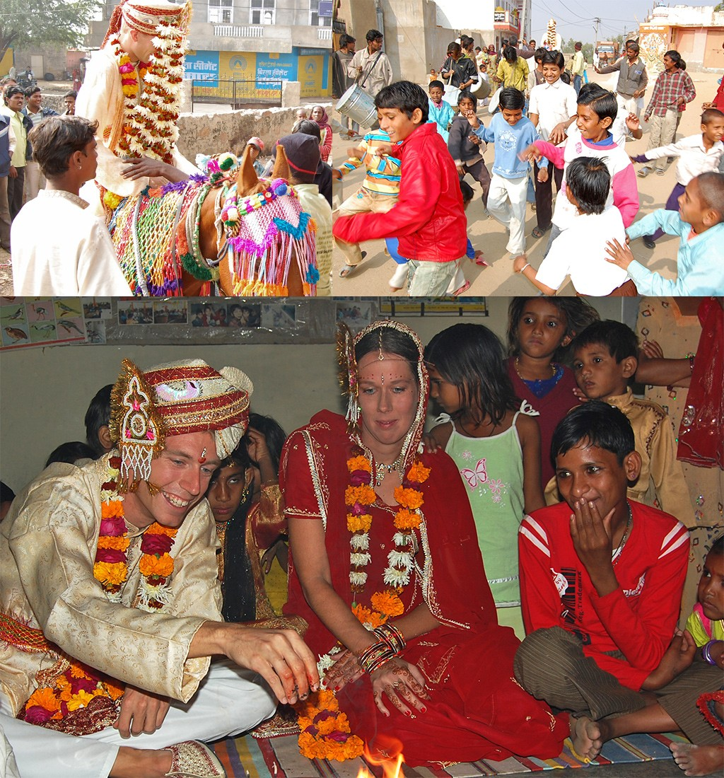trouwen in Pushkar India