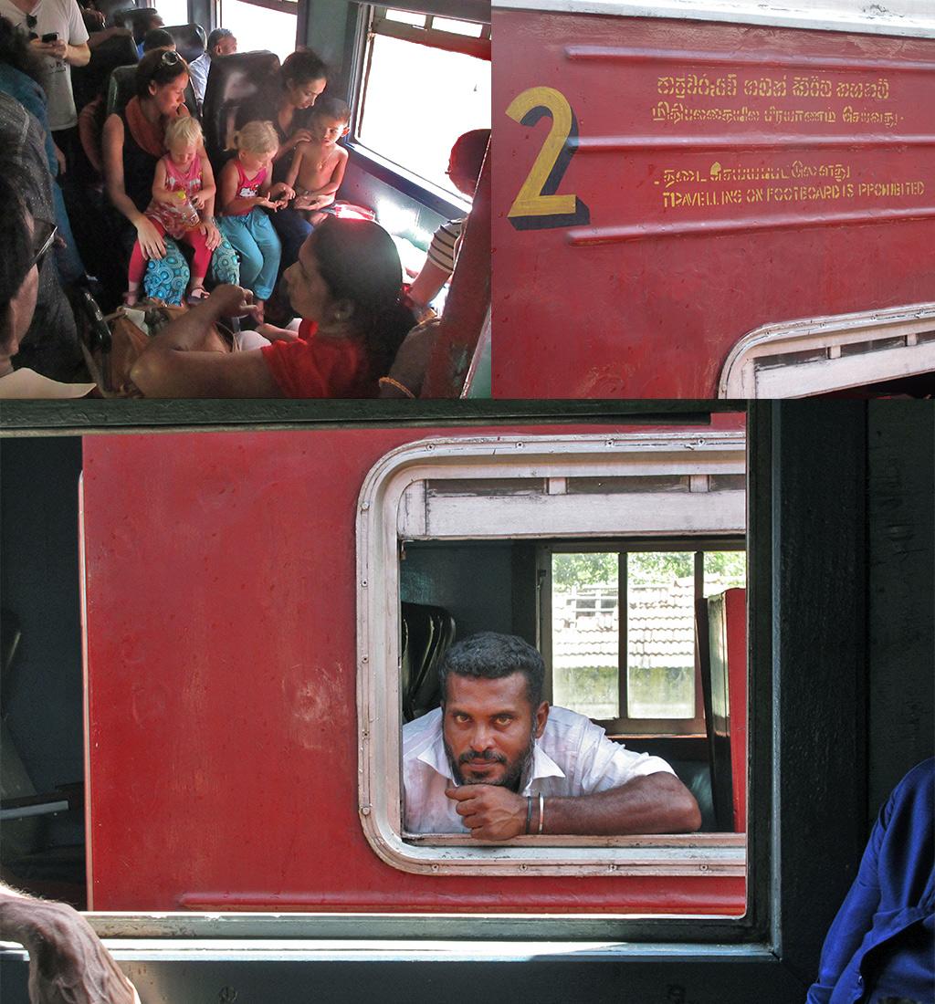 tweedeklas trein Sri Lanka