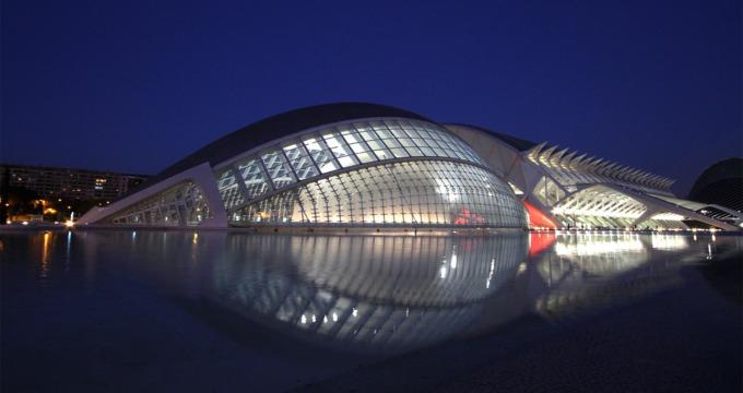 la ciudad de las artes y las ciencias Valencia