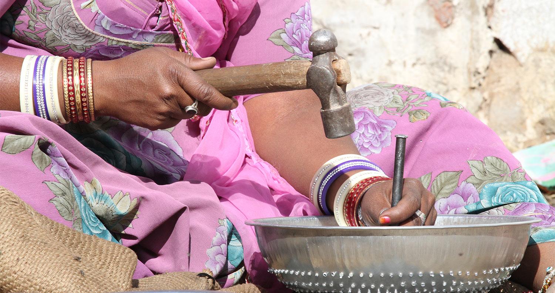 Sterke vrouwen in India